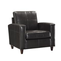 Club Chair With Espresso Finish Legs