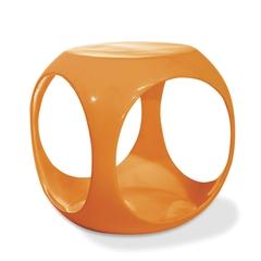 Office Star Slick Cube in Orange