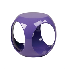 Office Star Slick Cube in Purple