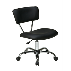 Office Star Vista Task Office Chair in Black