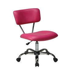 Office Star Vista Task Office Chair in Pink