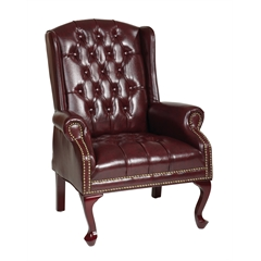 Office Star Traditional Queen Anne Style Chair