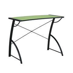 Trace Reversible Desk in Caliste Green and Black Top