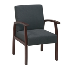 Office Star Deluxe Cherry Finish Guest Chair