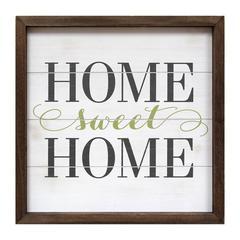 Stratton Home Décor Home Sweet Home Wall Art
