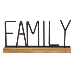 Metal and Wood Family Table Top