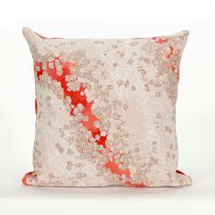 "Liora Manne Visions III Elements Indoor/Outdoor Pillow Orange 20"" Square"
