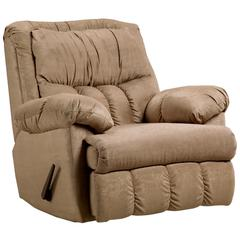 Flash Furniture Exceptional Designs by Flash Sensations Camel Microfiber Rocker Recliner