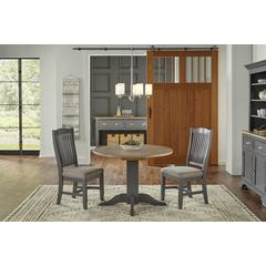 """Port Townsend 22"""" - 42"""" Double Drop Leaf Table with (2) 10"""" Leaves"""