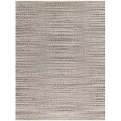 Zola 2 Gray Flat-Weave Area Rug 5'x8'