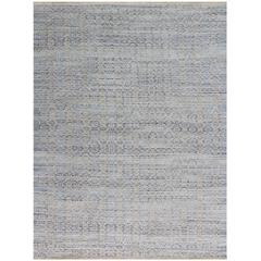 Zola 3 Polo Blue Flat-Weave Area Rug 5'x8'