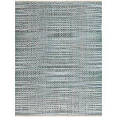 Zola 1 Aqua Flat-Weave Area Rug 3'x5'