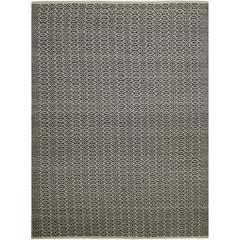 Zola 6 Charcoal Flat-Weave Area Rug 5'x8'