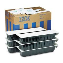 IBM 1402717 Toner, 45000 Page-Yield, 6/Pack, Black