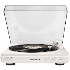 T400 Turntable, White
