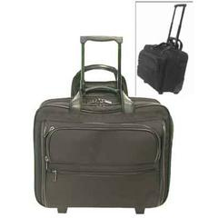 Stebco Black Stebco Wheeled Laptop and Essentials Carry On