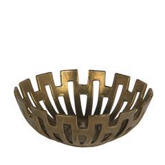 Large Decorative Bowl-Gold