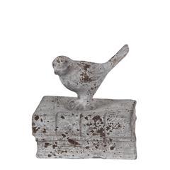 Bird Bookend-Stone Finish
