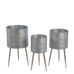 3 Pc Metal Plant Stands