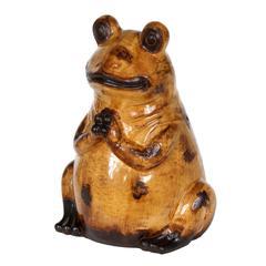 Med Ceramic Frog - Yellow