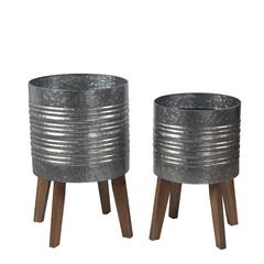 2 Pc Planter Stands