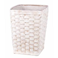 Large Ceramic Weave Basket