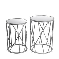 2 Pc Stands-Silver