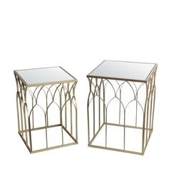 2 Pc Stands-Gold