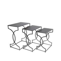 3 PC Nesting Tables - Chocolate