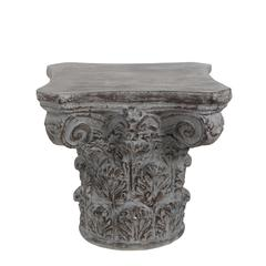 Accent Table - Dark Stone Grey