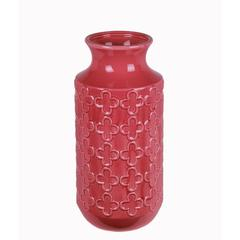 Lrg Ceramic Vase - Pink