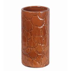 Small Ceramic Vase - Giraffe Pattern