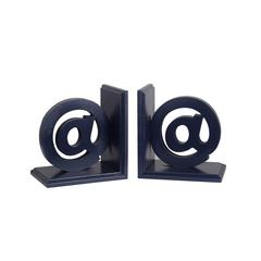 Wooden Bookends - @