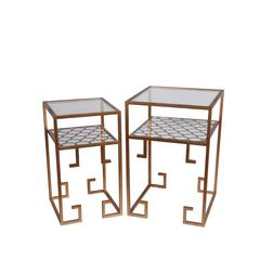 2Pc Metal Tables