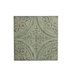 Iron Wall Plaque - Green