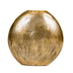 Large Brass Vase - Antique Gold