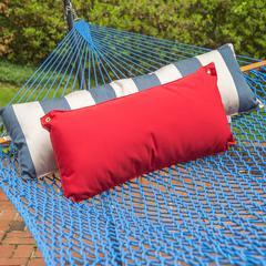 Traditional Hammock Pillow -  Jockey Red