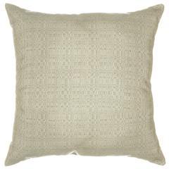 Sunbrella Throw Pillow - Linen Silver