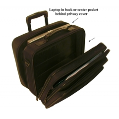 Stebco Dual Function Nylon Rolling Computer Case