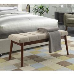 Designs4Comfort Van Dyke Mid Century Bench