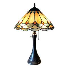 "CHLOE Lighting AMELIA Victorian 2 Light Antique Dark Bronze Table Lamp 15"" Shade"