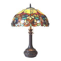 "CHLOE Lighting GENESIS Victorian 2 Light Antique Dark Bronze Table Lamp 17"" Shade"