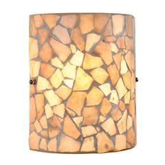 "CHLOE Lighting KAI Mosaic 1 Light  Indoor Wall Sconce 8"" Wide"