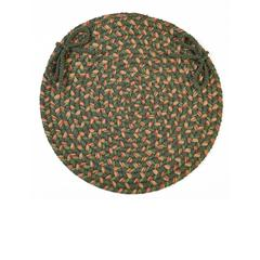 "Rhody Rug Easy Living Herb Garden 15"" Chair Pad"