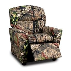 """Mossy Oak Nativ Living """"Country"""" Kid's Recliner with cupholder"""
