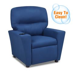 Kid's Recliner with cupholder - Navy