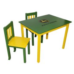 John Deere Table & Chair Set - Green/Yellow