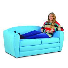 Tween Sleeper Sofa - Sky Blue