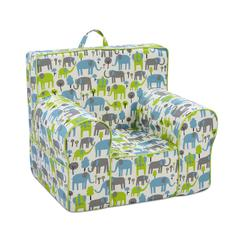 Classic Grab-n-go Kid's Foam Chair with handle - Trunk Tales Mantis Macon with Sour Apple Welt