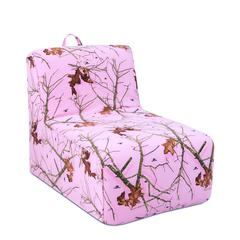 Tween Lounger w/handle - Mossy Oak Lifestyle Pink